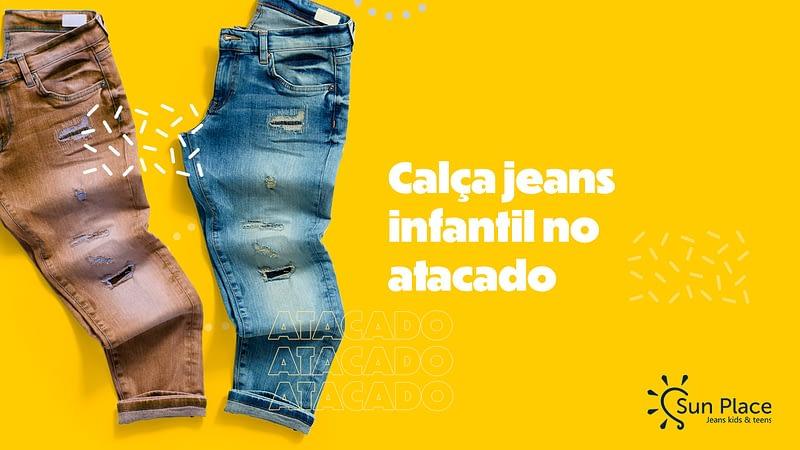Calça jeans infantil no atacado: muito mais do que uma peça de roupa, um ícone da moda